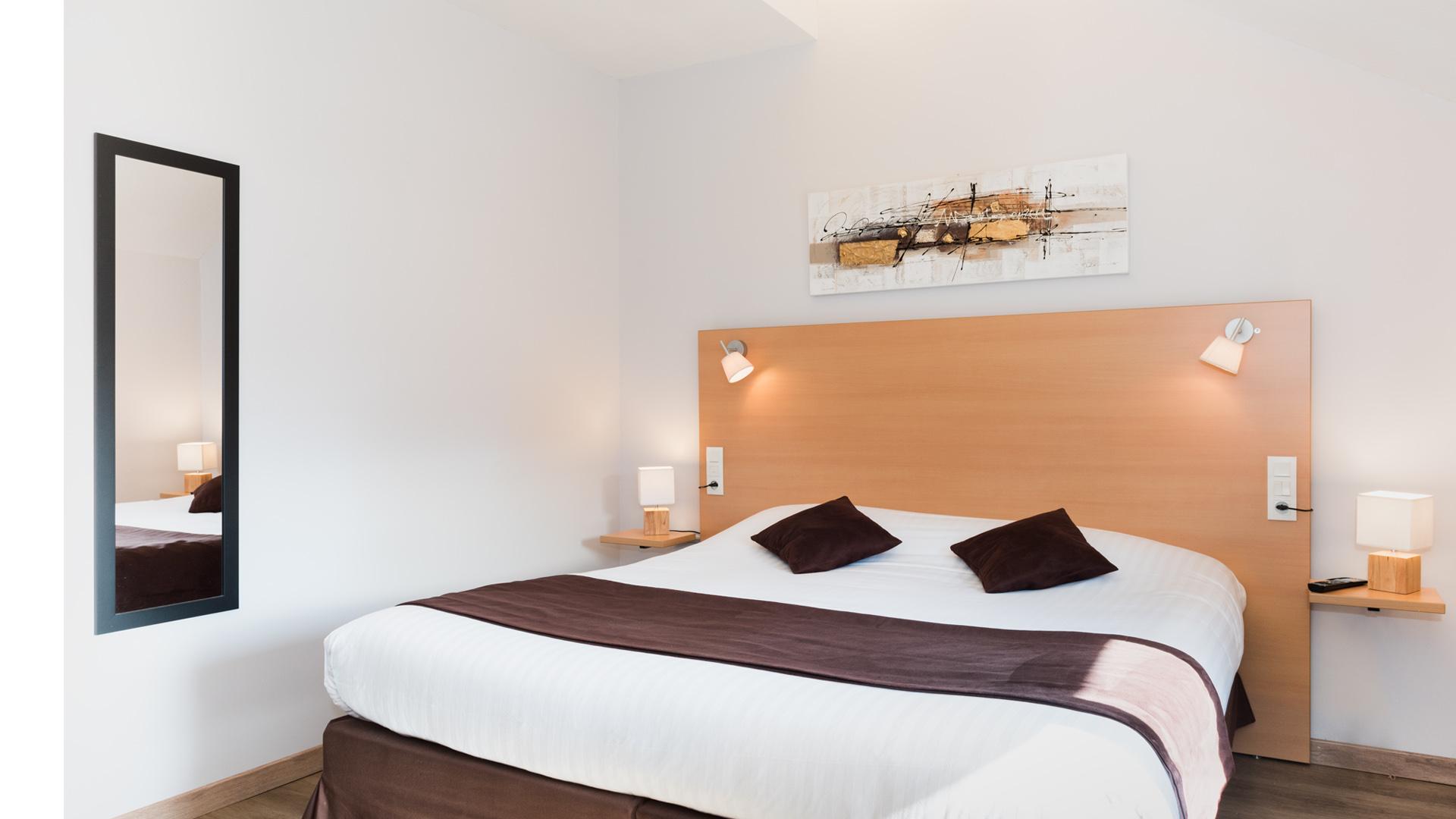 Une chambre Double du Carré Py' Hôtel***