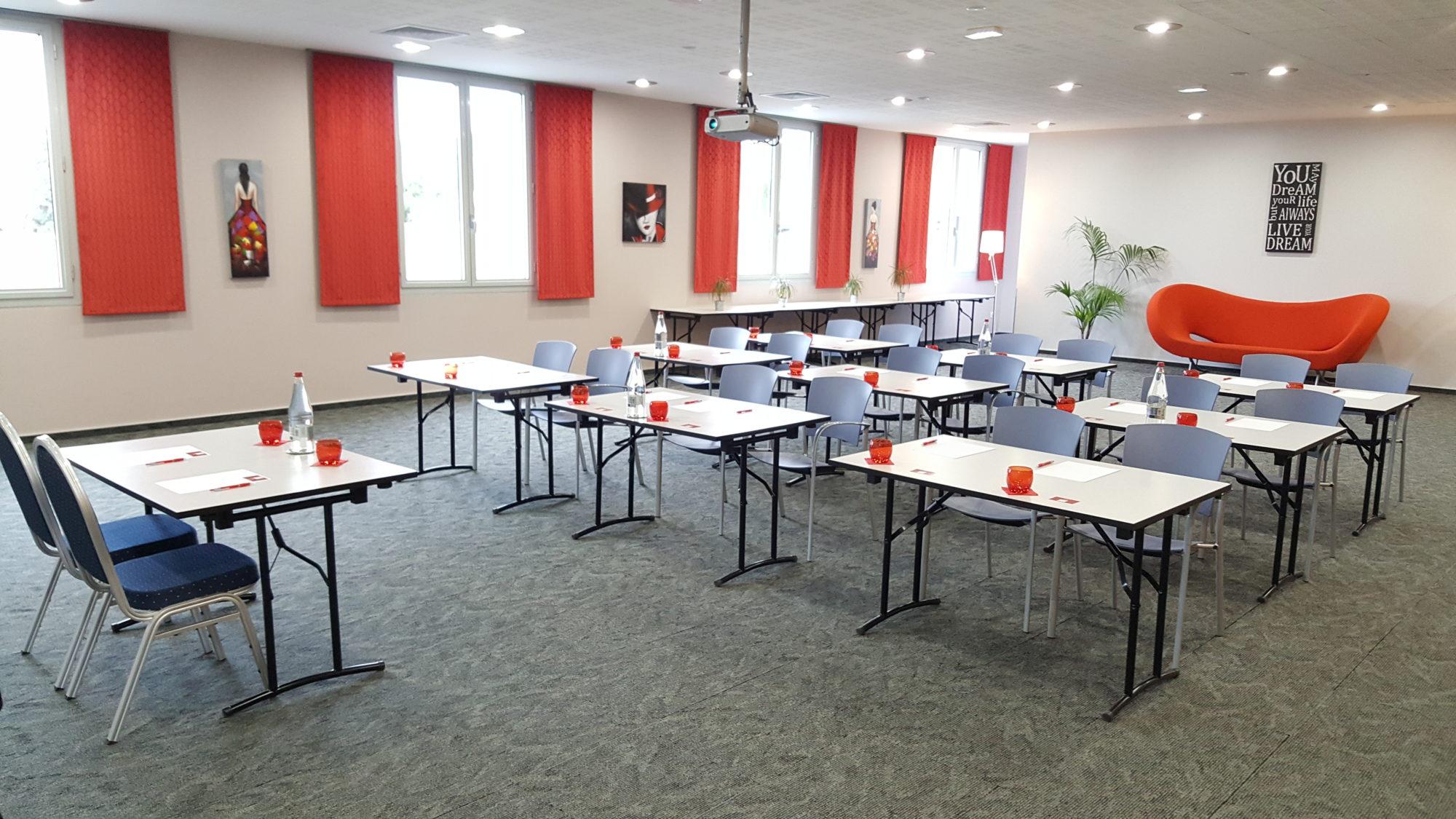 Salle de conférence dans les Pyrénées