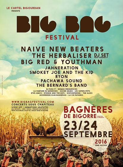 Big bag festival 23 24 septembre 2016 - Office tourisme bagneres de bigorre ...