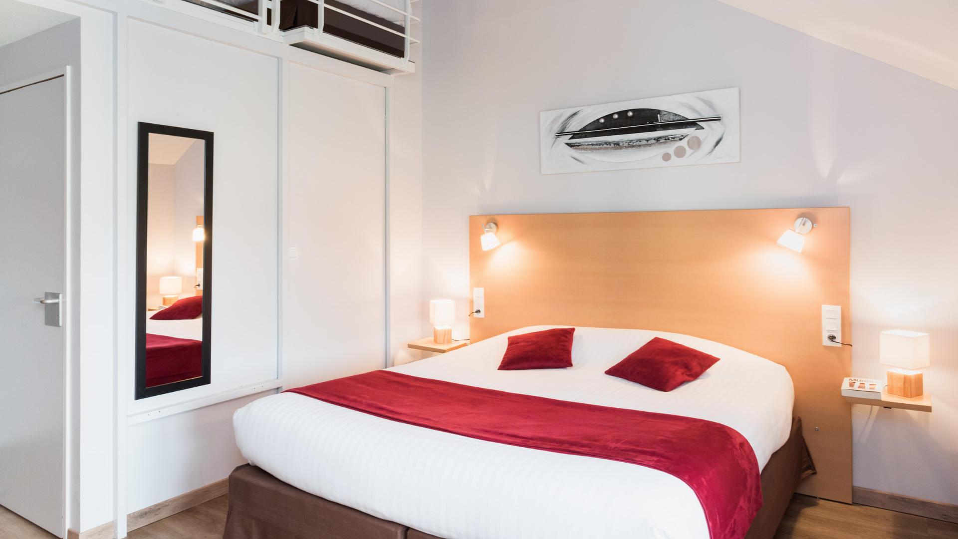 Une chambre du Carré Py' Hôtel